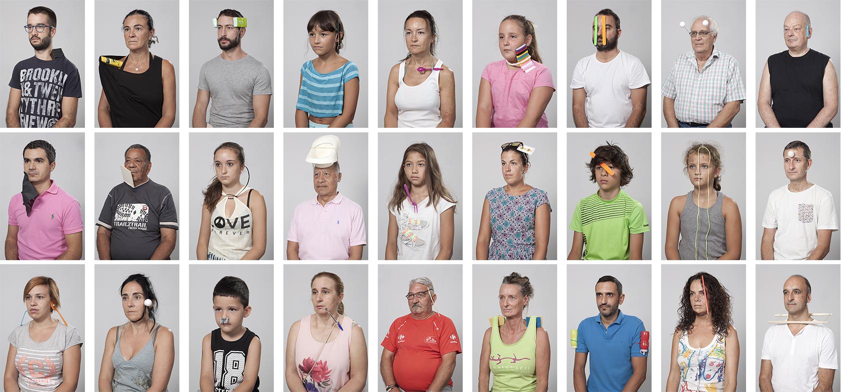 Selección de los 'Auto-Retratos' realizados cabo en la Semana Cultural Genalguacil  (2015)