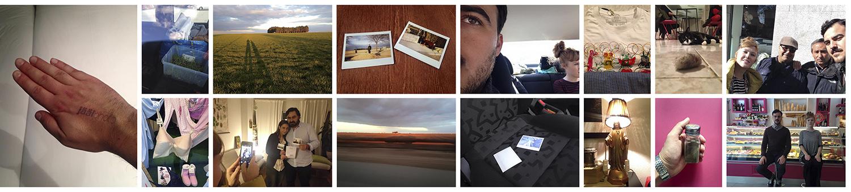 Algunas de las imágenes realizadas durante el viaje